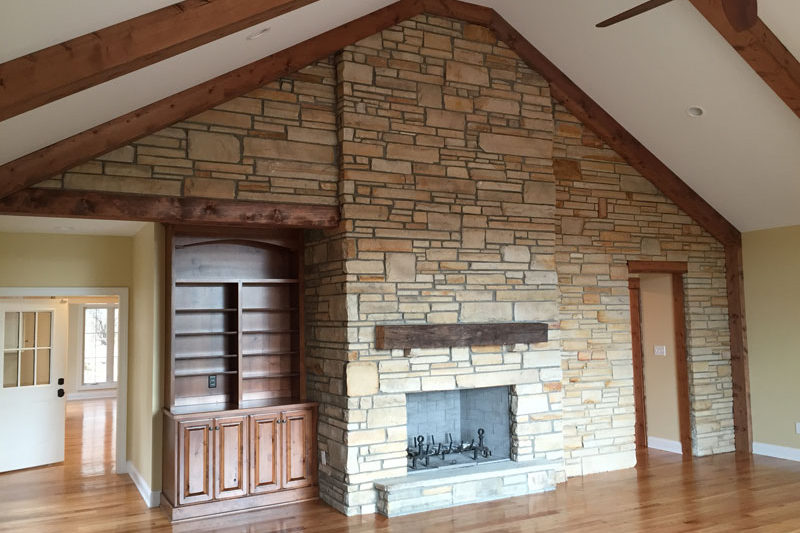 Reworked Stone Home Interior