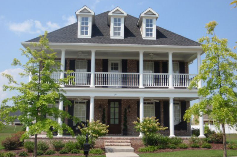 Southern Style Custom Home